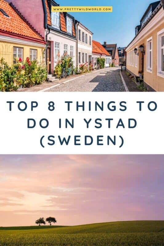 Things to do in Ystad | things to do in sweden, travel sweden, sweden travel, sweden culture, sweden nature #ystad #sweden #europe #traveldestinations #traveltips #bucketlisttravel #travelideas #travelguide #amazingdestinations #traveltheworld