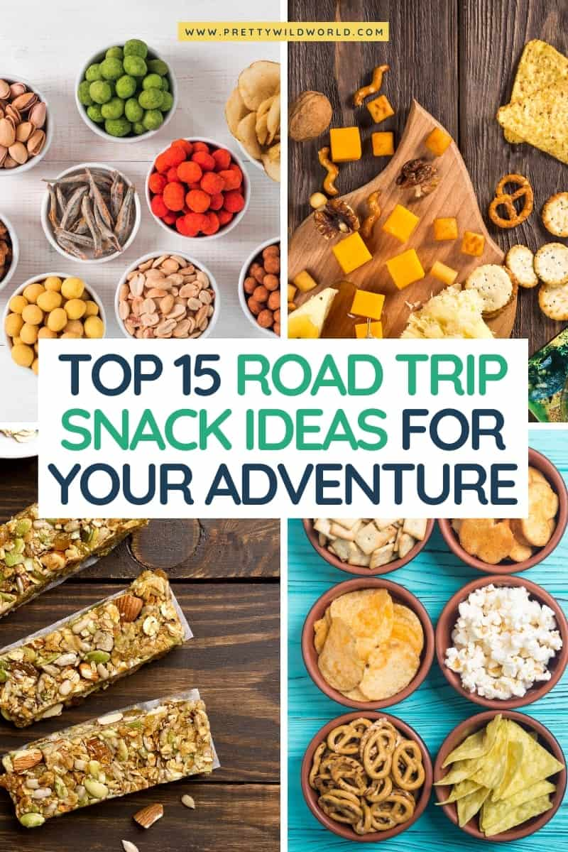 Best road trip snack ideas | Looking for healthy, homemade, no cooler road trip snacks for adults? Here're our top 15 healthy munchies you can bring for long drives! #roadtrip #europe #adventrure #traveldestinations #traveltips #travelguide #travelhacks #bucketlisttravel #amazingdestinations #travelideas #traveltheworld