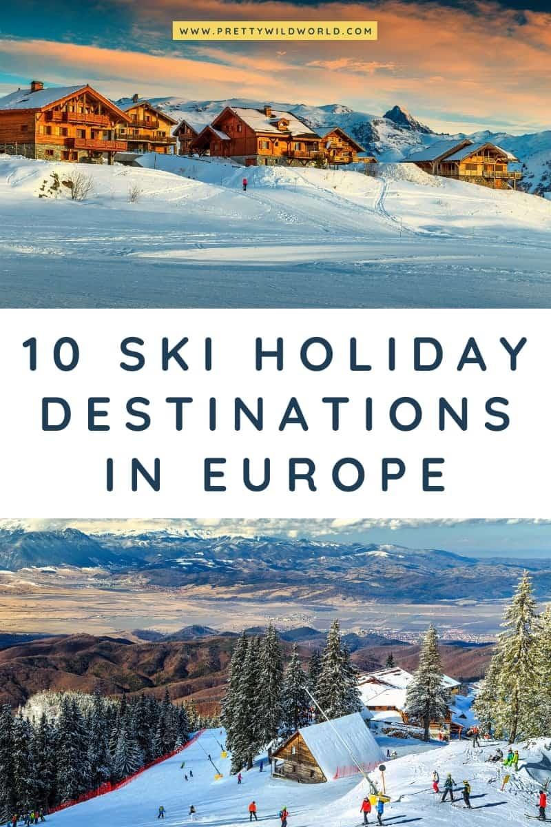 Ski holiday destinations in Europe | ski trip, ski tips, ski vacation, ski essentials, first time skiing, first ski trip, ski vacation outfits, skiing vacations, ski weekend, ski mountain, switzerland skiing, ski vacation packing, ski trip tips, winter ski #europe #traveldestinations #traveltips #bucketlisttravel #travelideas #travelguide #amazingdestinations #traveltheworld