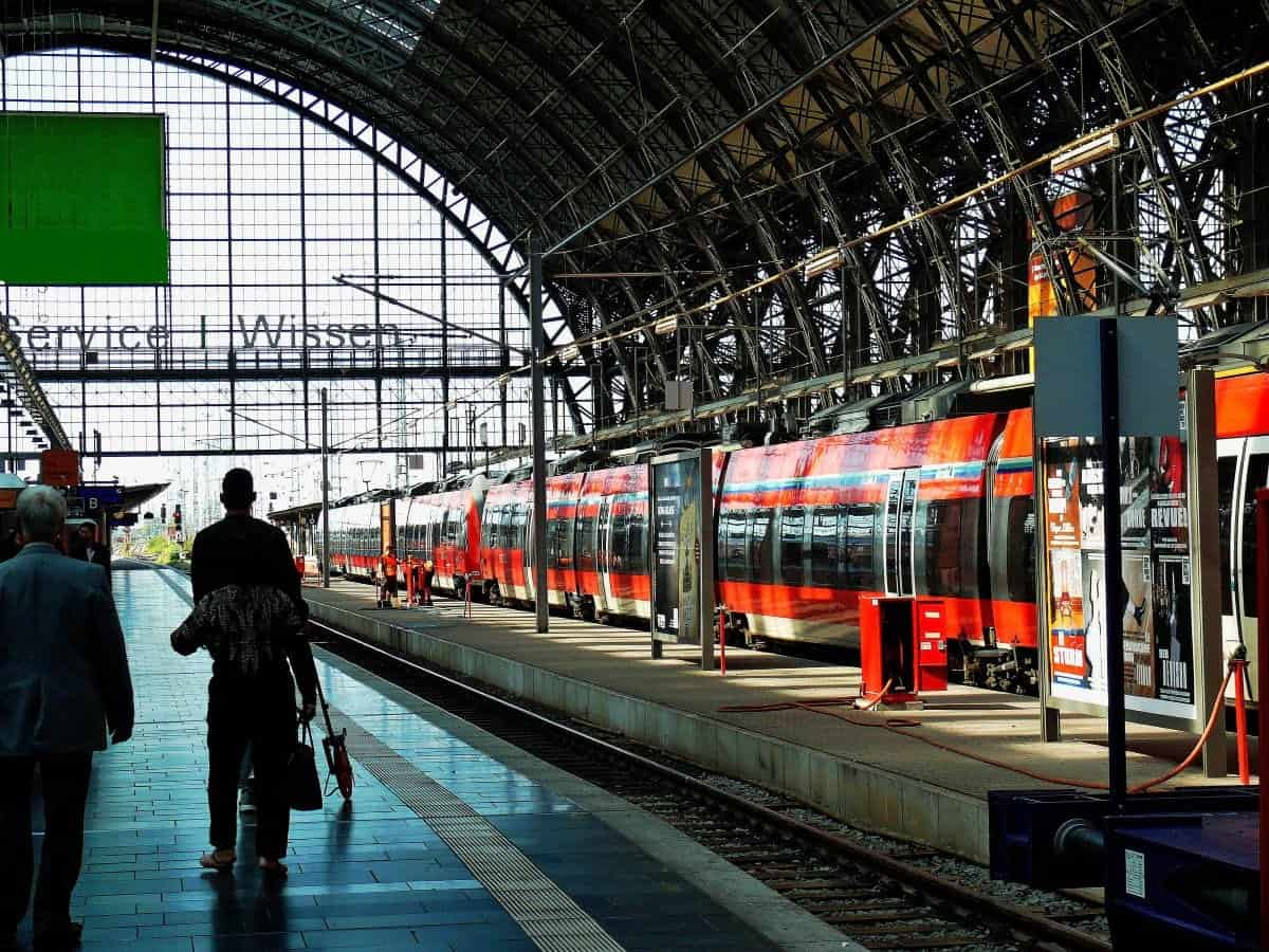train station in Europe
