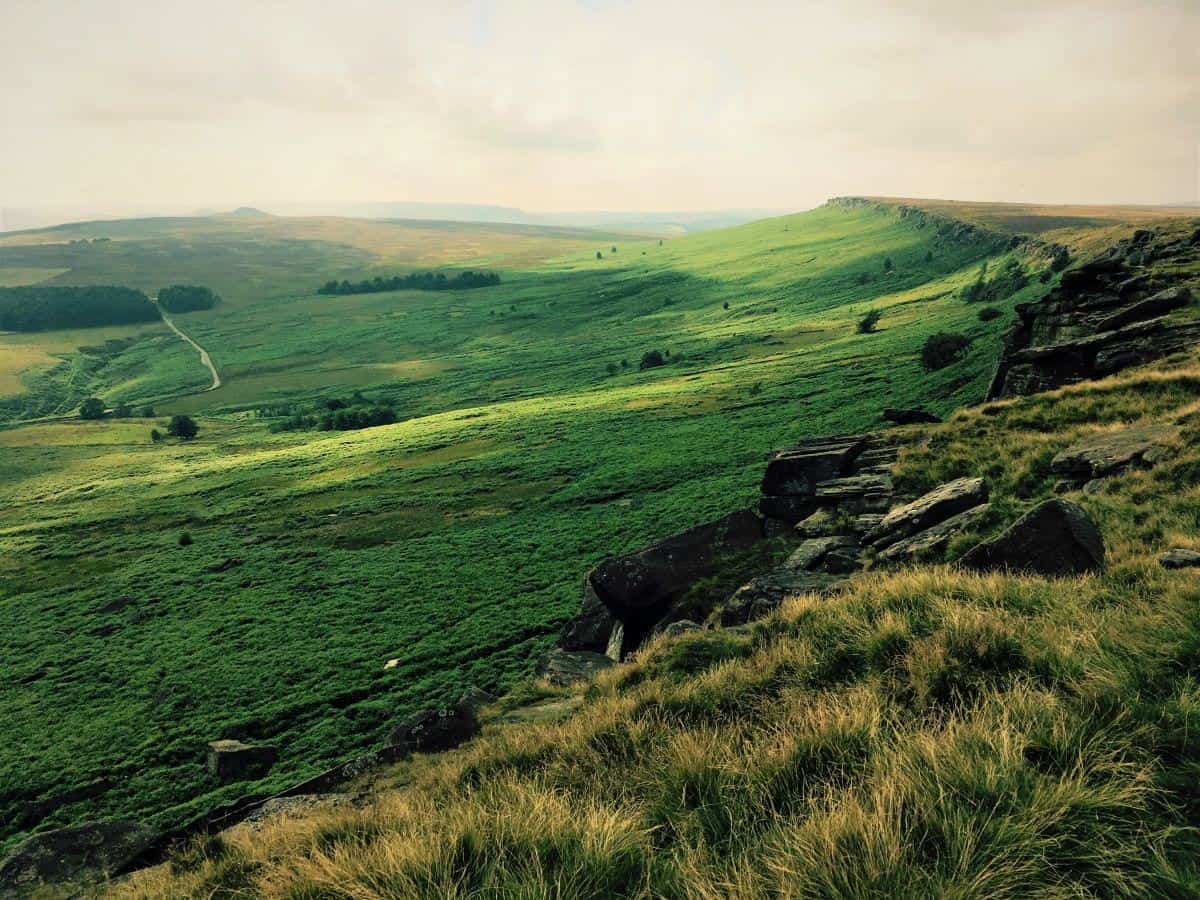 Stanage Edge From Hathersage