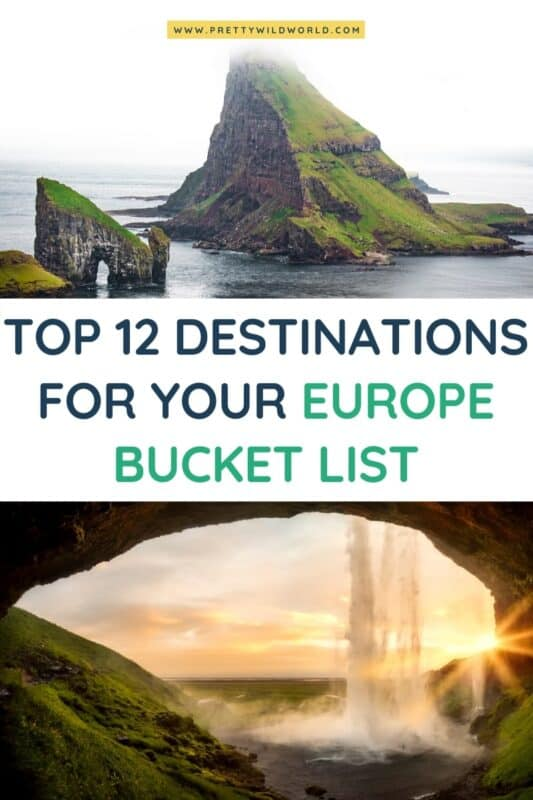 Europe Bucket List | bucket list, traveling bucket list, bucket ideas travel bucket, bucket lists ideas, bucket lists adventure, adventurous bucket list, ultimate bucket list, life bucket list, bucket list experiences #traveldestination #traveltips #bucketlisttravel #amazingdestinations #travelideas #traveltheworld #travelguides