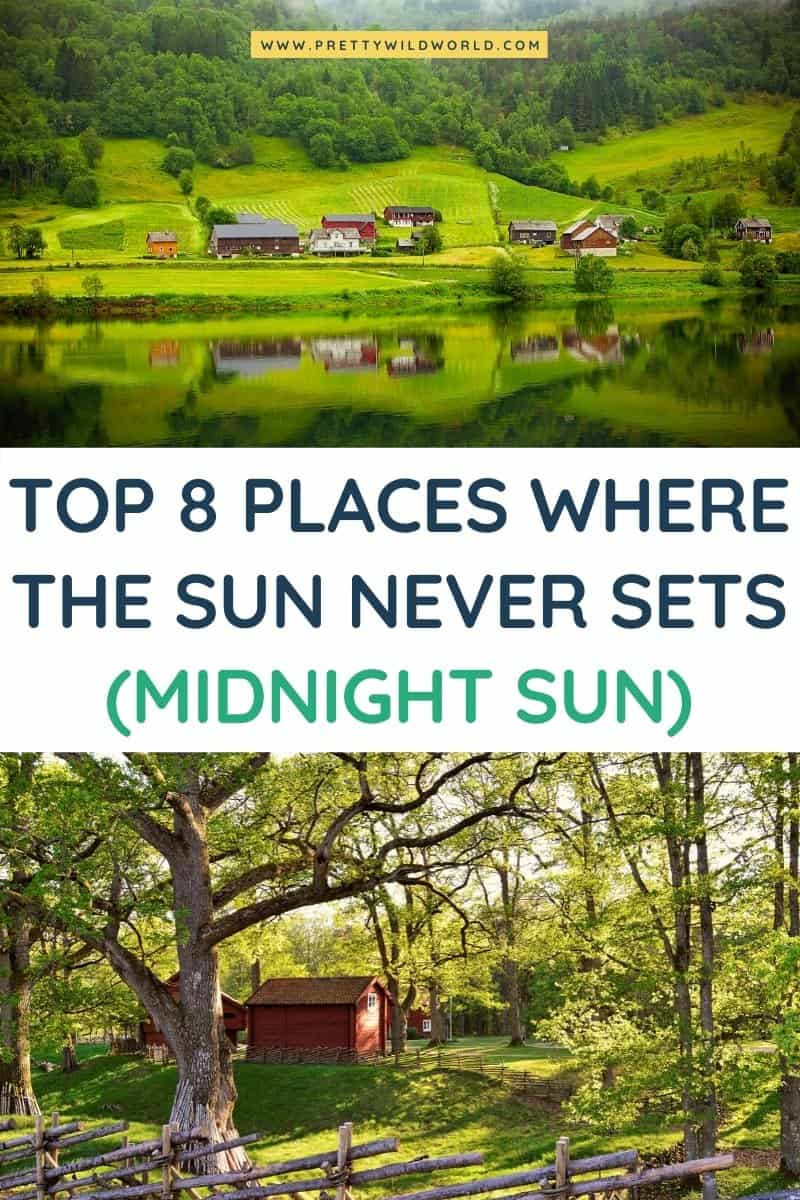 Places to visit the Midnight Sun | Would you like to experience a natural phenomenon where sun doesn't set? There are loads of destinations around the world where you can witness the midnight sun! Read this post now or pin it for later read. #traveldestination #traveltips #bucketlisttravel #amazingdestinations #travelideas #traveltheworld #travelguides #europe #europetravel