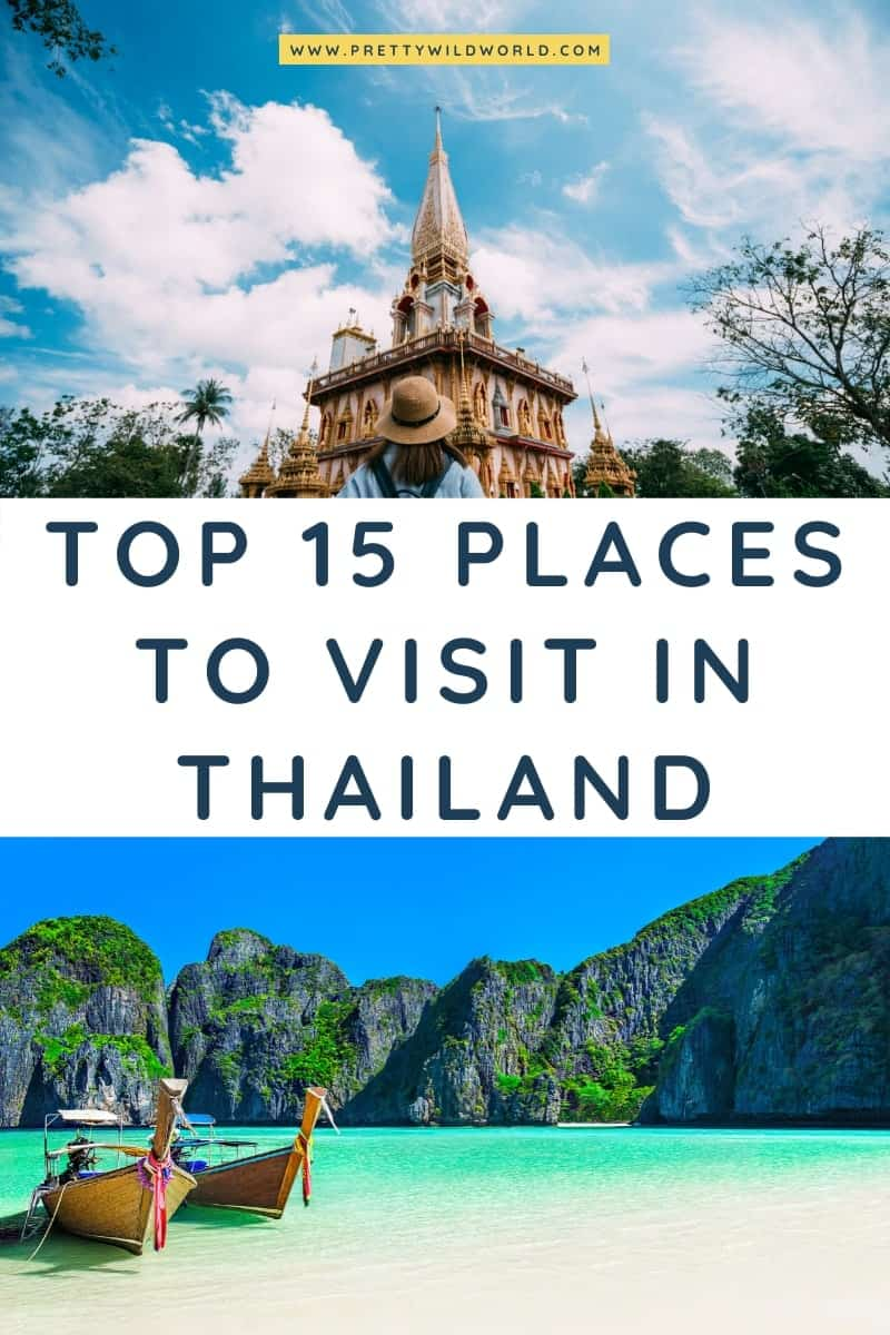Places to visit in Thailand | where to go in thailand, thailand travel guide, what to do in thailand, places to visit in thailand, travel thailand, traveling to thailand, thailand vacation, packing for thailand, thailand travel tips, thailand tips, visit thailand #asia #traveldestination #traveltips #bucketlisttravel #amazingdestinations #travelideas #traveltheworld #travelguides