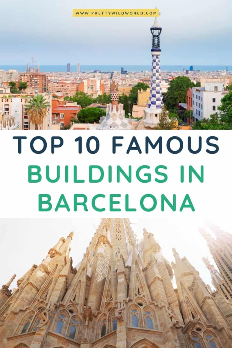 Famous Buildings in Barcelona | spain travel tips, travel in spain, spain architecture, travel to spain, spain tips, trip to spain, spain travel, spain ideas, spanish architecture, travelling spain #europe #traveldestination #traveltips #bucketlisttravel #amazingdestinations #travelideas #traveltheworld #travelguides