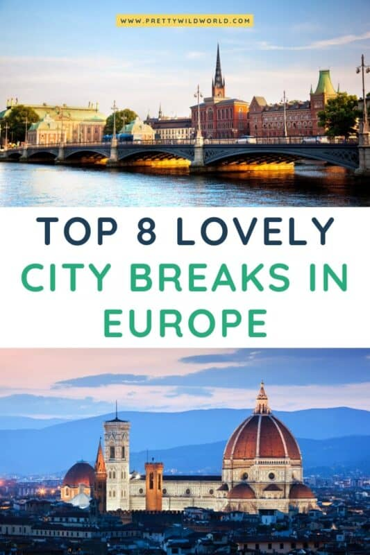 City Breaks in Europe | where to travel in europe, europe travel destinations, planning a europe trip, europe travel itinerary, travel europe tips, travel destinations europe, europe travel places, europe traveling tips, top europe destinations, travel destinations european #europe #traveldestination #traveltips #bucketlisttravel #amazingdestinations #travelideas #traveltheworld #travelguides