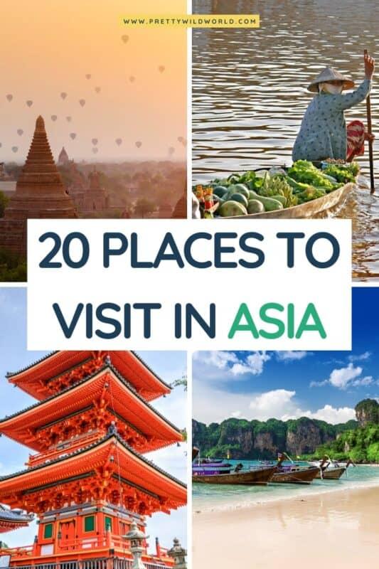 Places to visit in Asia | asia travel destinations, travel asia, visit asia, asia trip, asia travel, travel destinations asia, top asia destinations, destination asia, asia culture, asia inspiration, travel to asia, asia vacation #asia #traveldestination #traveltips #bucketlisttravel #amazingdestinations #travelideas #traveltheworld #travelguides