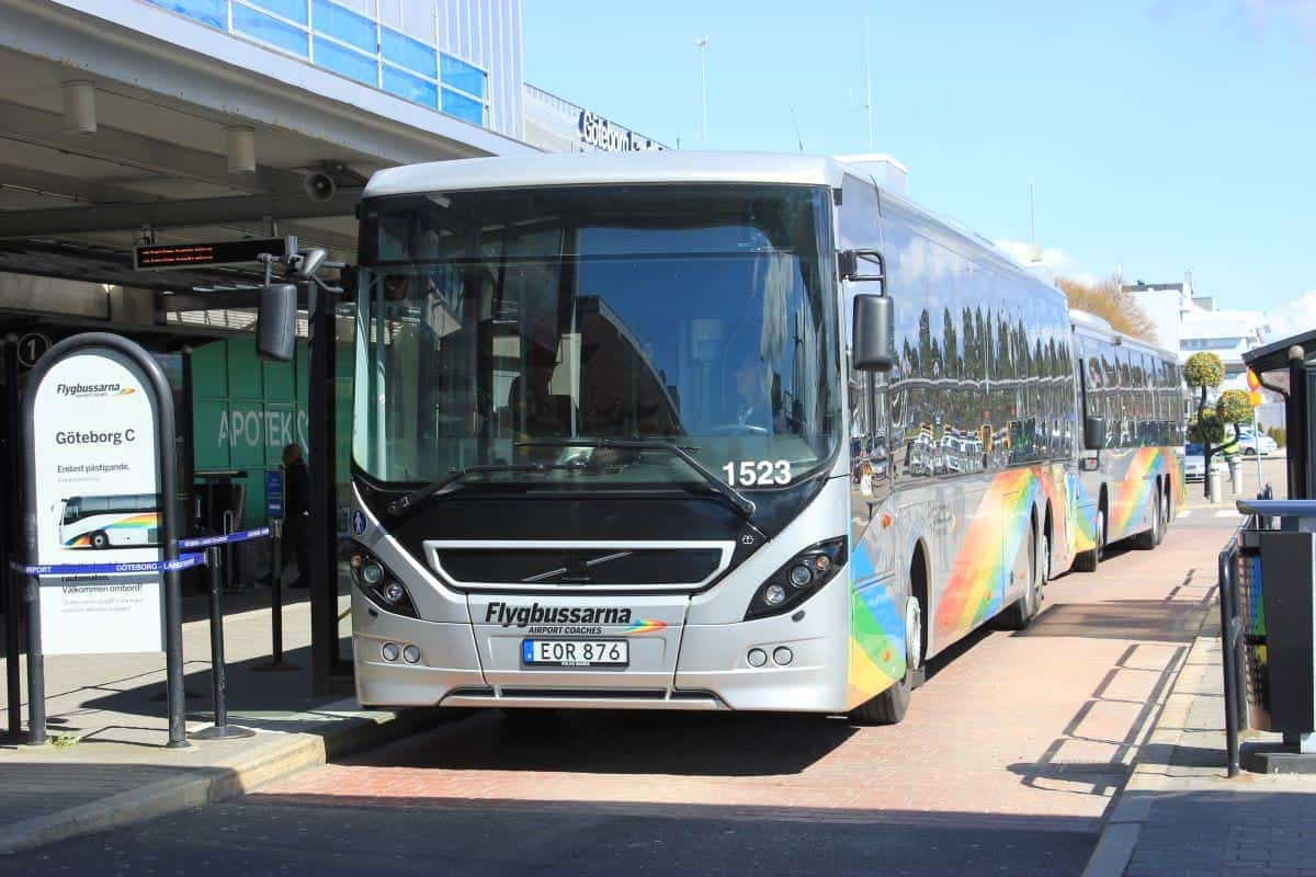 Stockholm Airport: Flygbussarna coaches