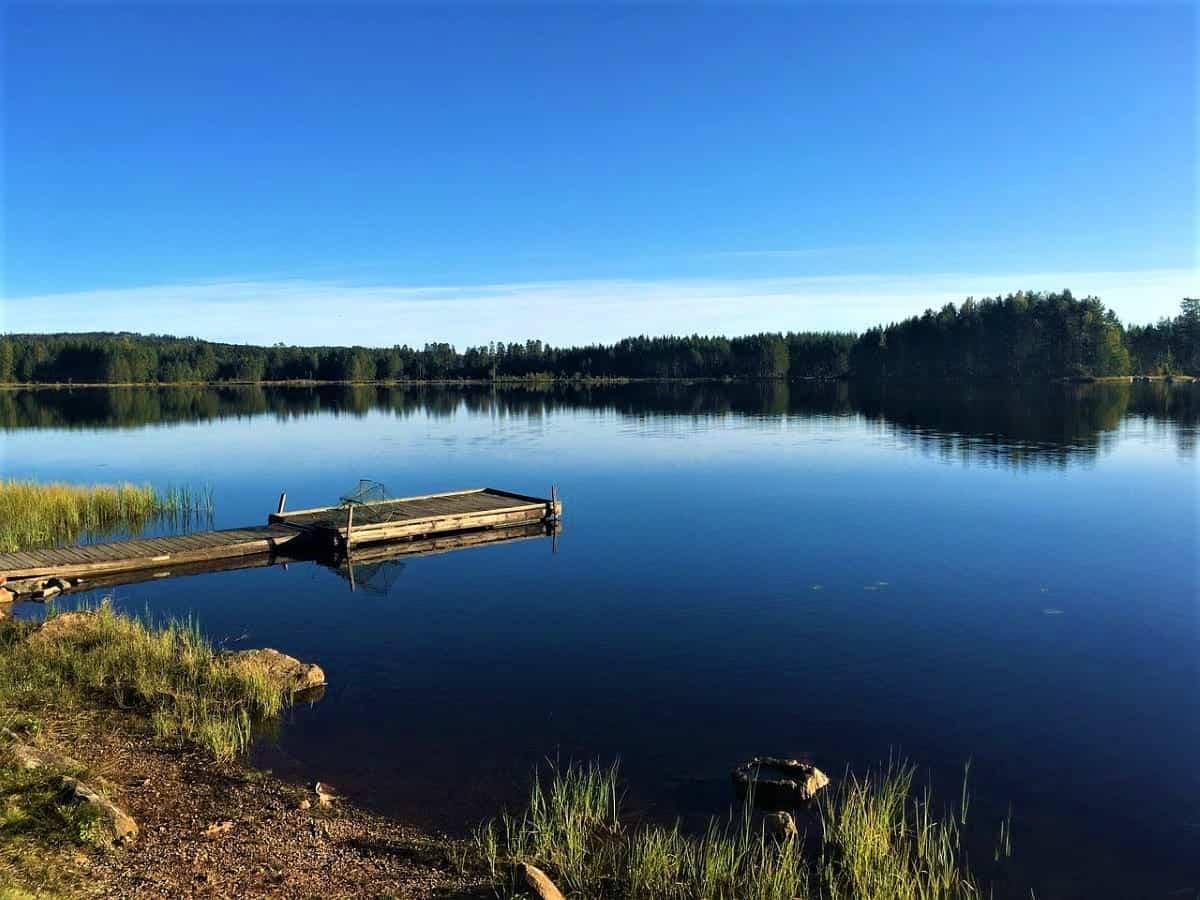 Camping in Sweden: Glaskogen Nature reserved