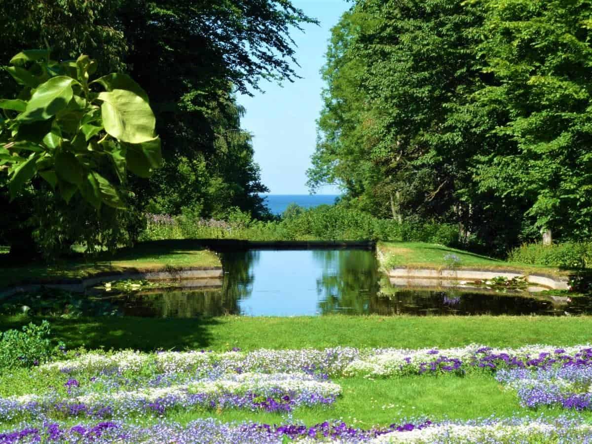 Norrvikens Garden Skane Sweden