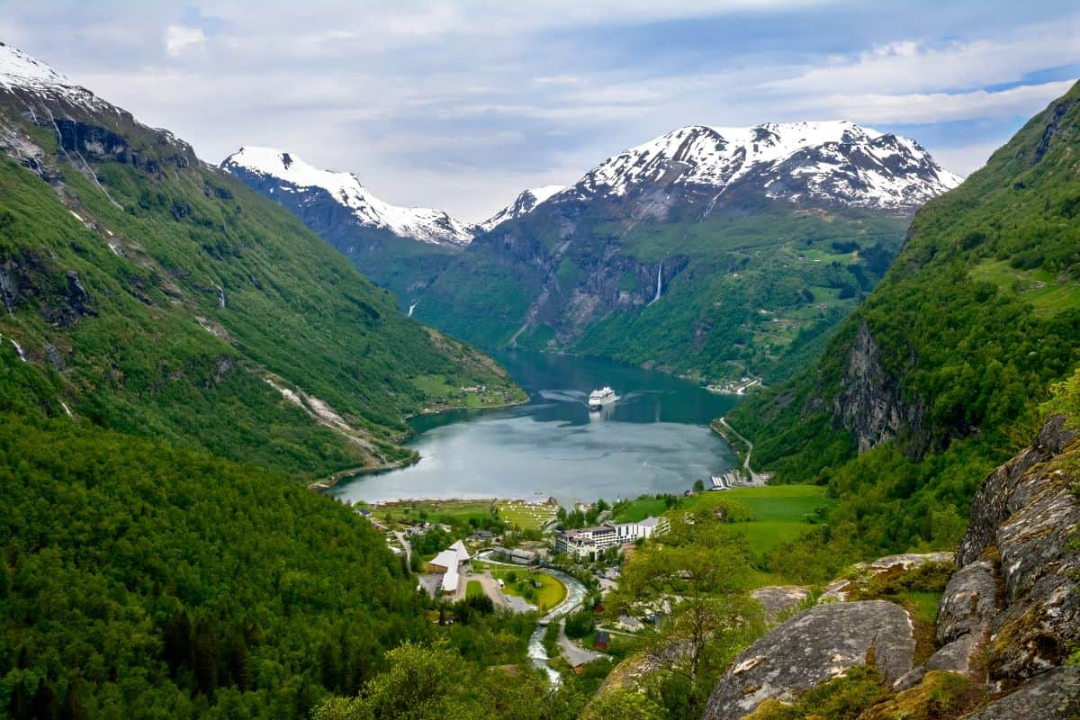 UNESCO sites in Norway: Geirangerfjord Norway