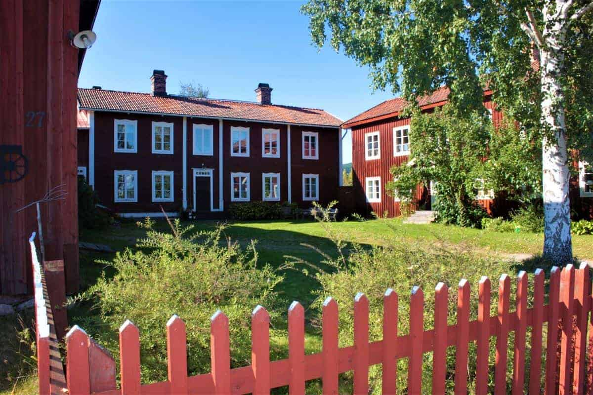 Decorated Farmhouses of Hälsingland Sweden