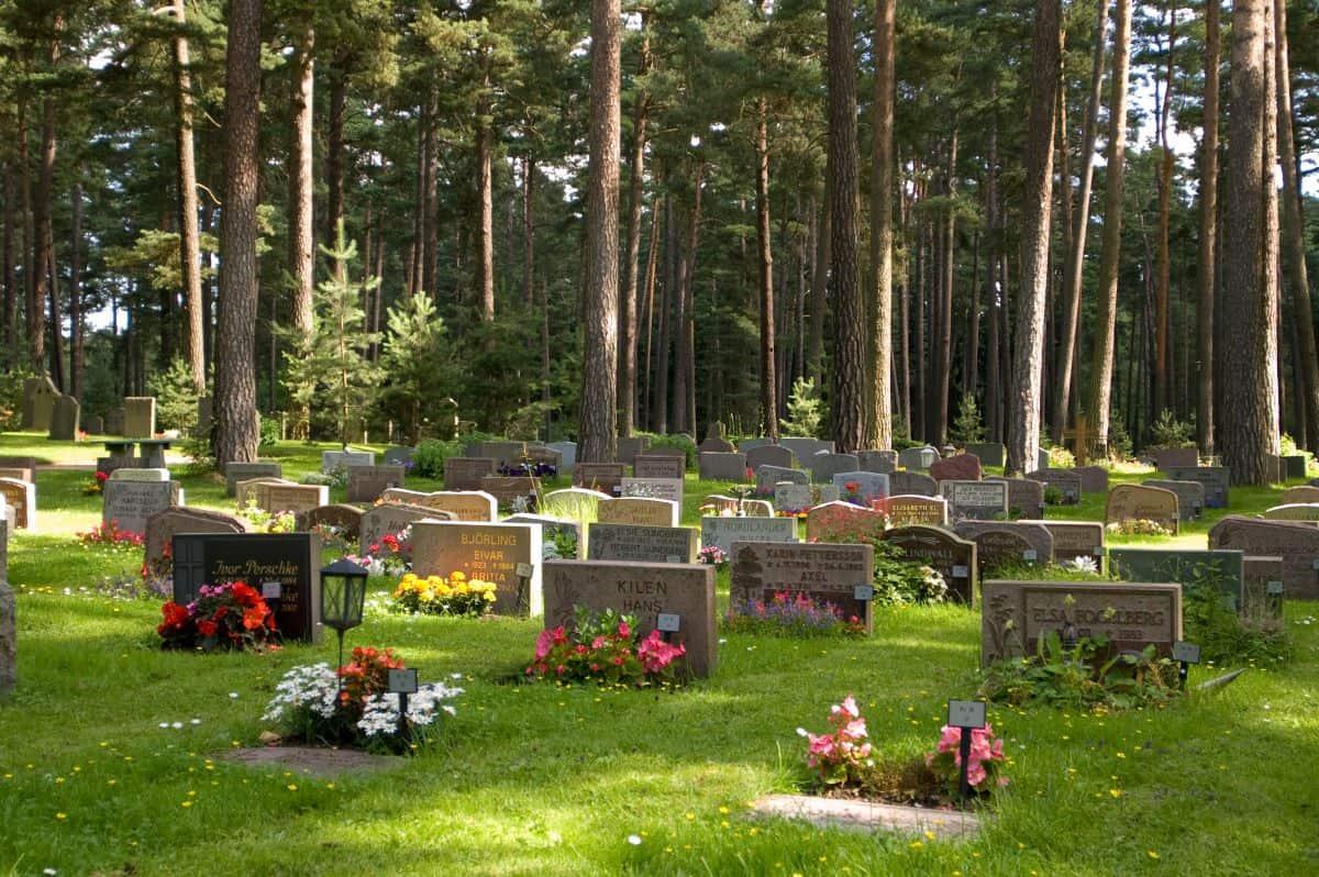 Skogskyrkogården cemetery Sweden