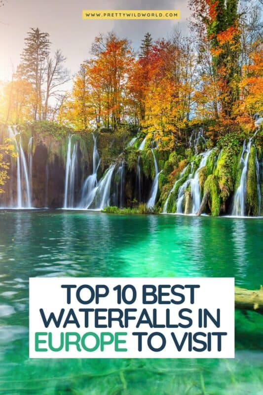 Looking for the best waterfalls in Europe to visit? best waterfalls in europe, beautiful waterfalls in europe, awesome waterfalls in europe, most amazing waterfalls in europe, the biggest waterfalls in europe, most beautiful waterfalls in europe, most famous waterfalls in europe, highest waterfalls in europe, list of waterfalls in europe #europe #traveldestinations #traveltips #travelguide #travelhacks #bucketlisttravel #amazingdestinations #travelideas #traveltheworld