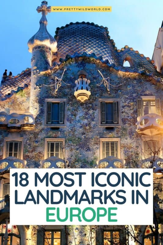 Looking for the most iconic landmarks in Europe? european destinations, places to visit in europe, europe attractions, must see places in europe, things to do in europe, destination europe, best countries in europe, europe tourist attractions, best time to visit europe, top destinations in europe #europe #traveldestinations #traveltips #travelguide #travelhacks #bucketlisttravel #amazingdestinations #travelideas #traveltheworld