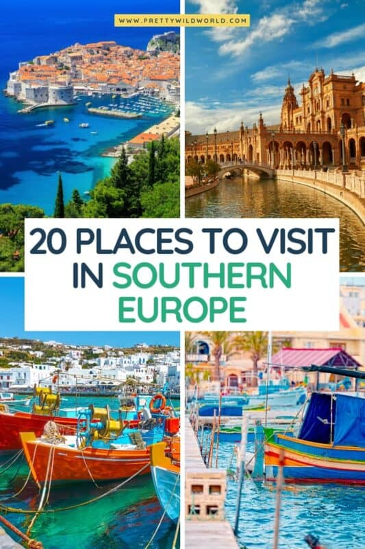 Places to Visit in Southern Europe | europe travel guide, travel europe tips, top europe destinations, travel europe destinations, europe travel tips, europe travel places, adventures in europe, europe adventure, europe destinations, things to do in europe #europe #traveldestinations #traveltips #travelguide #travelhacks #bucketlisttravel #amazingdestinations #travelideas #traveltheworld