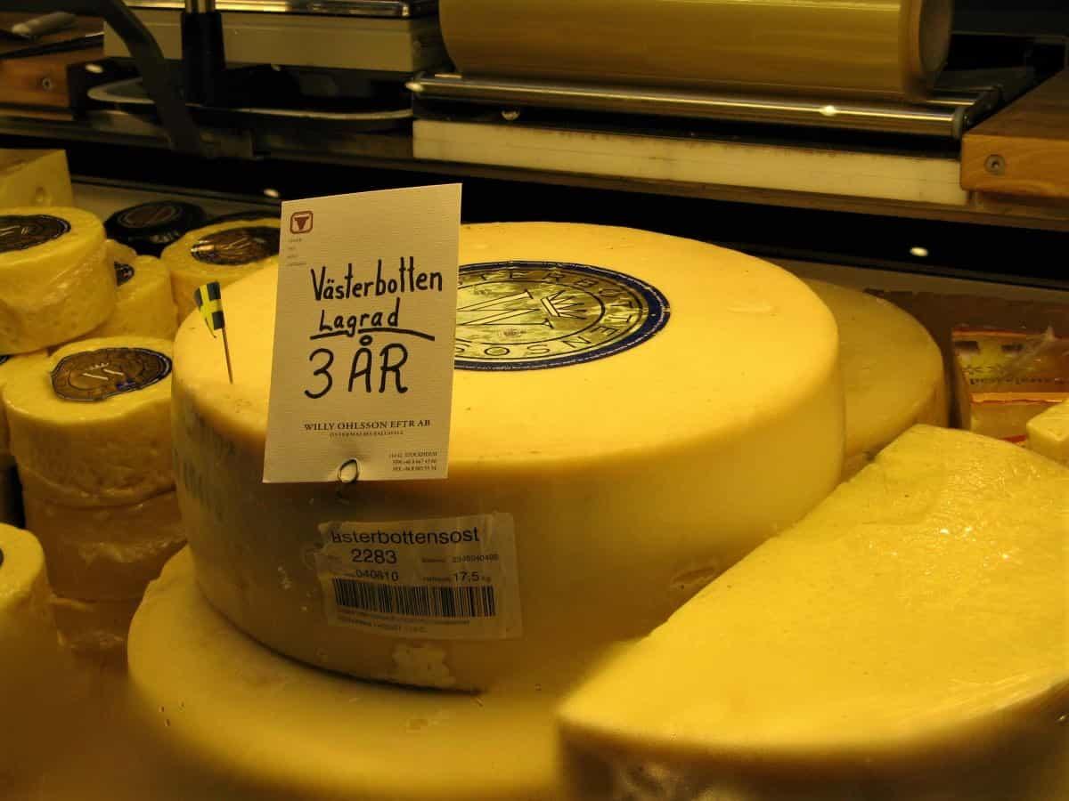 Västerbotten Cheese sweden