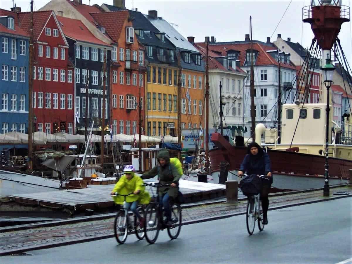 Bicycle across Denmark