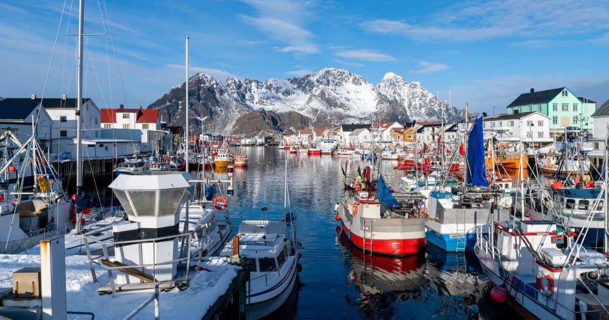 Henningsvaer Norway
