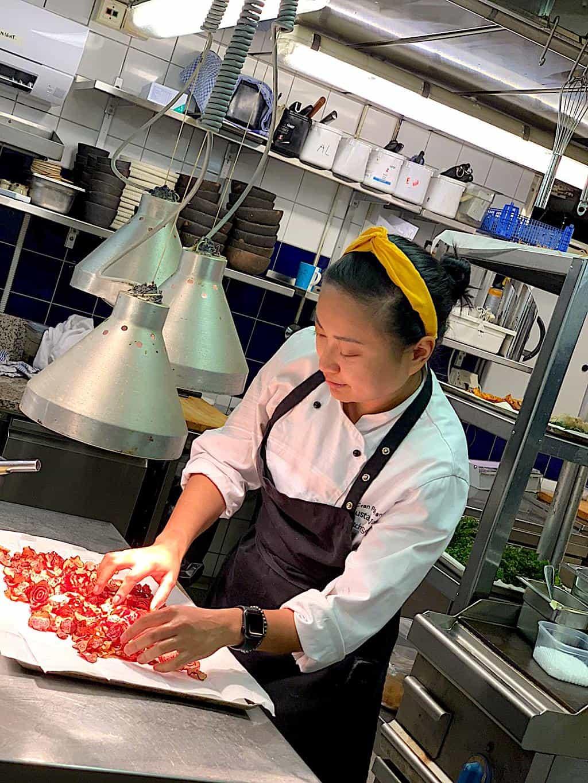 About Evan Kristine, Finnish chef