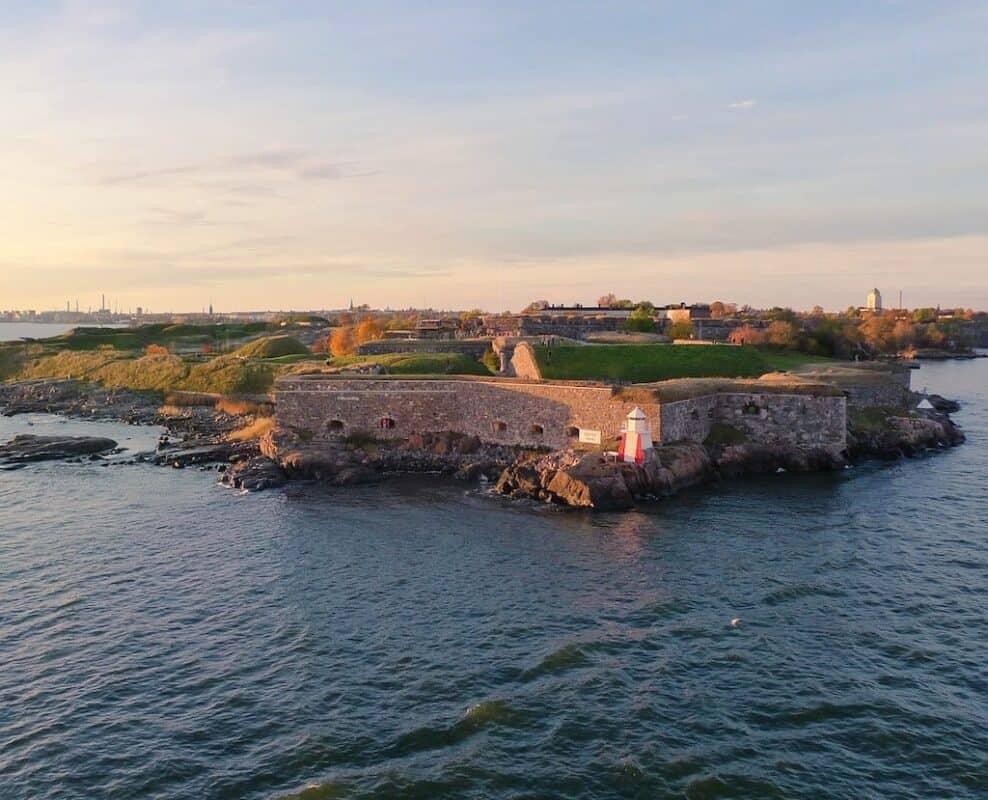 Suomenlinna Fortress in Helsinki
