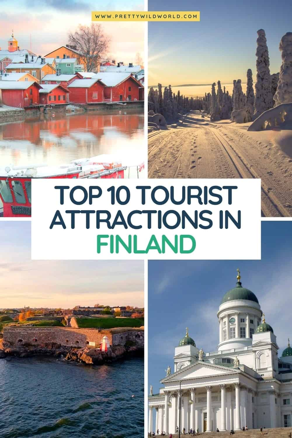 Tourist Attractions in Finland | If you're interested in aesthetic, nature, Lapland in winter, travel in summer, Helsinki, northern lights, and many wonderful things in Finland then you must not miss a trip to Finland! #Finland #tourist #europe