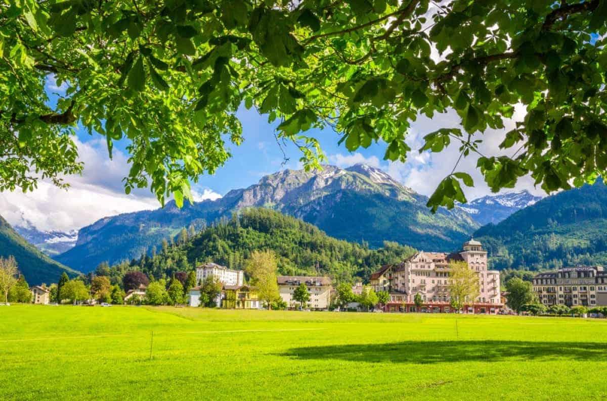 Swiss Interlaken Switzerland