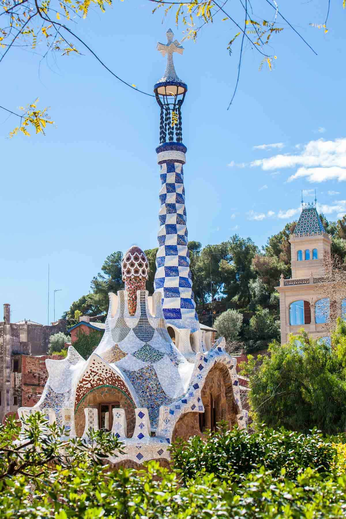 spring destinations in europe barcelona spain park guell