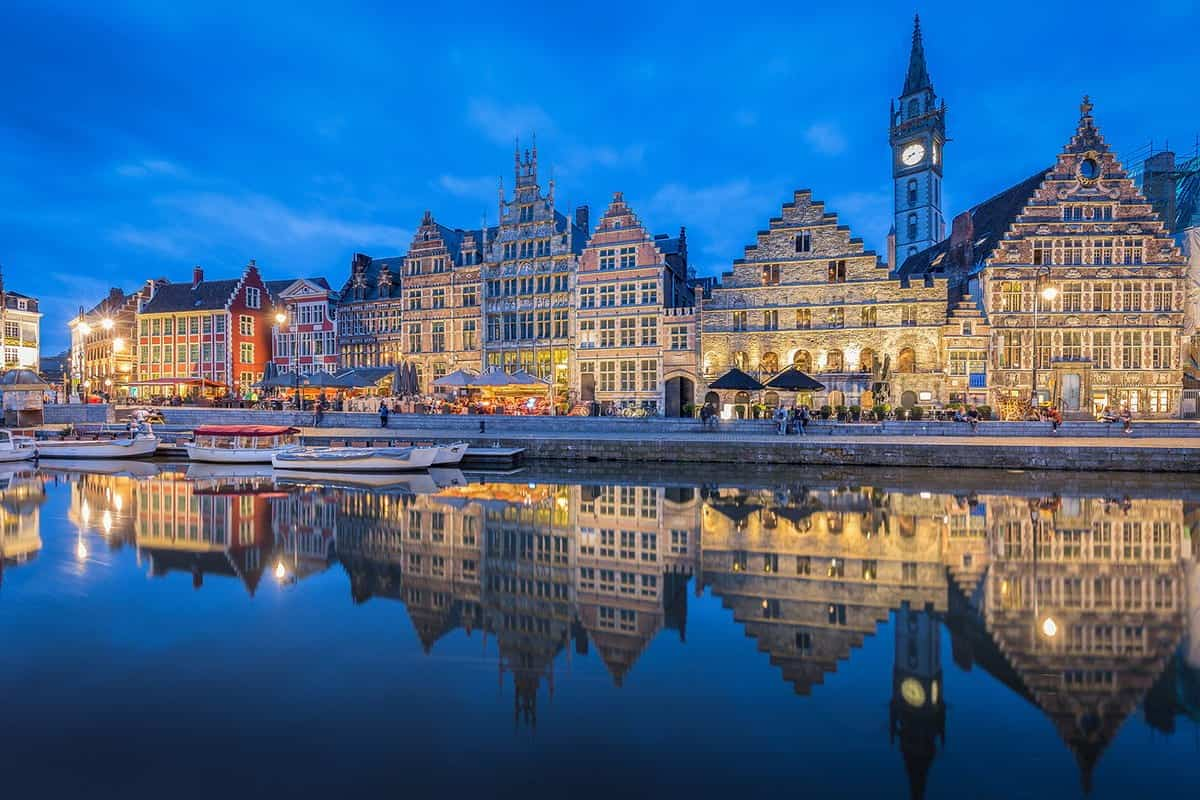 things to do in Ghent Graslei