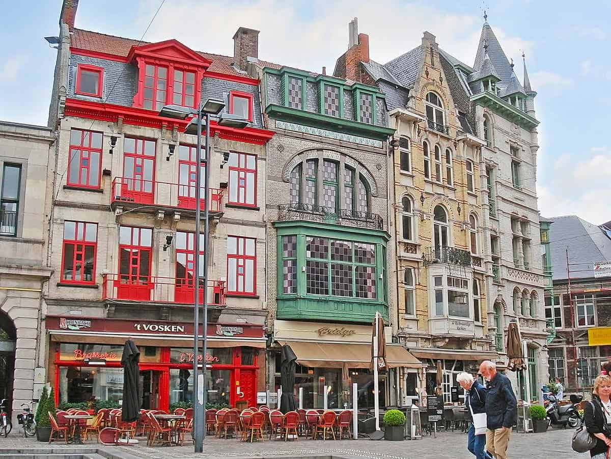 top tourist attractions and things to do in Ghent Patershol
