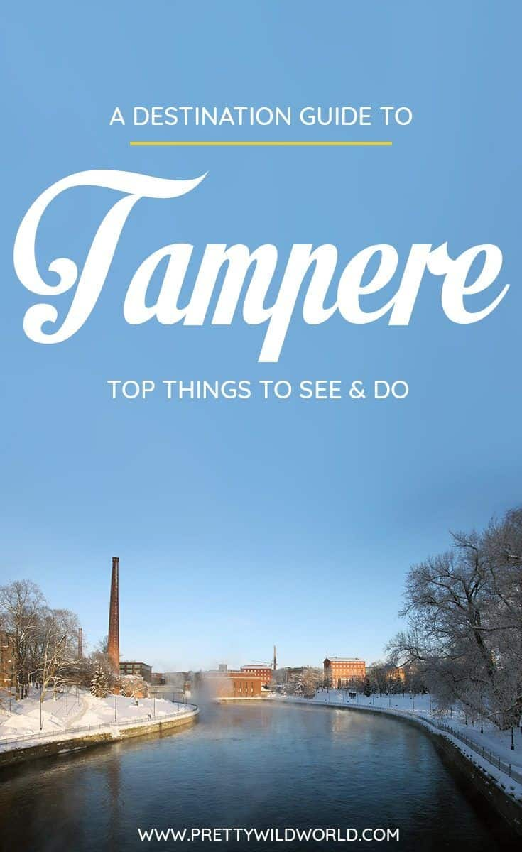 Planning a trip to the beautiful city of Tampere, a lovely city in Finland? Check out this first-timer's guide to Tampere that includes all the top things to do in Tampere, places to go in Tampere, places to see in Tampere, what to see in Tampere, and places to stay in Tampere. Save this Tampere travel guide in your travel board so you'll find it later! #tampere #finland #europe #travel #travelblog
