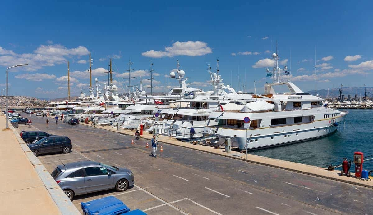 top tourist attractions in athens greece flisvos marina