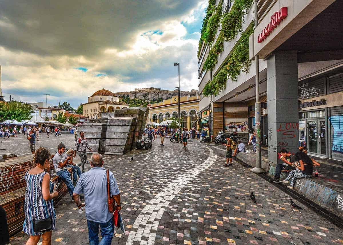 top tourist attractions in athens greece monastiraki