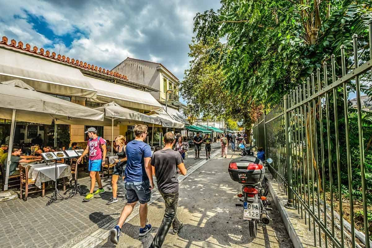 top tourist attractions in athens greece plaka