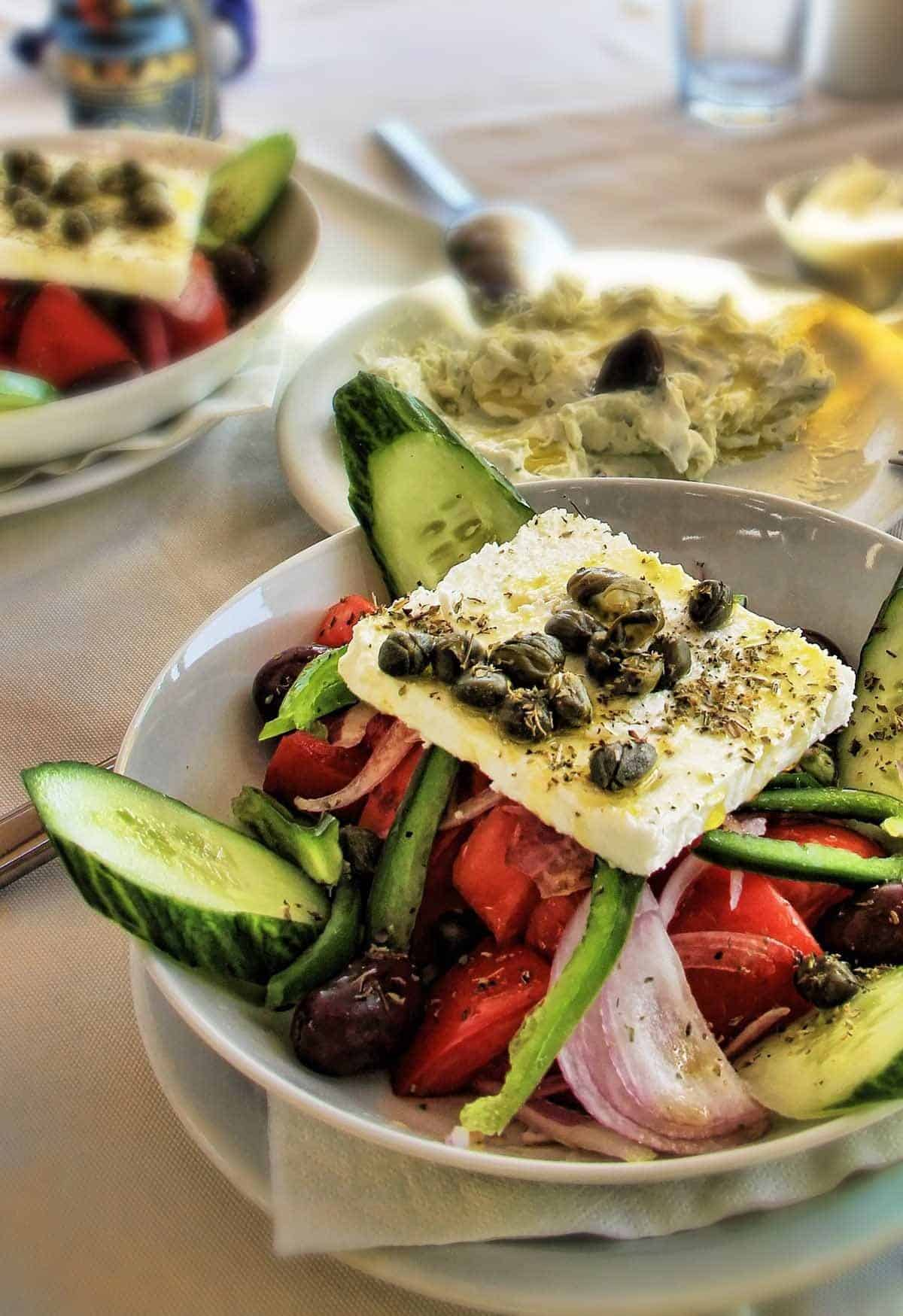 top tourist attractions in athens greece salad
