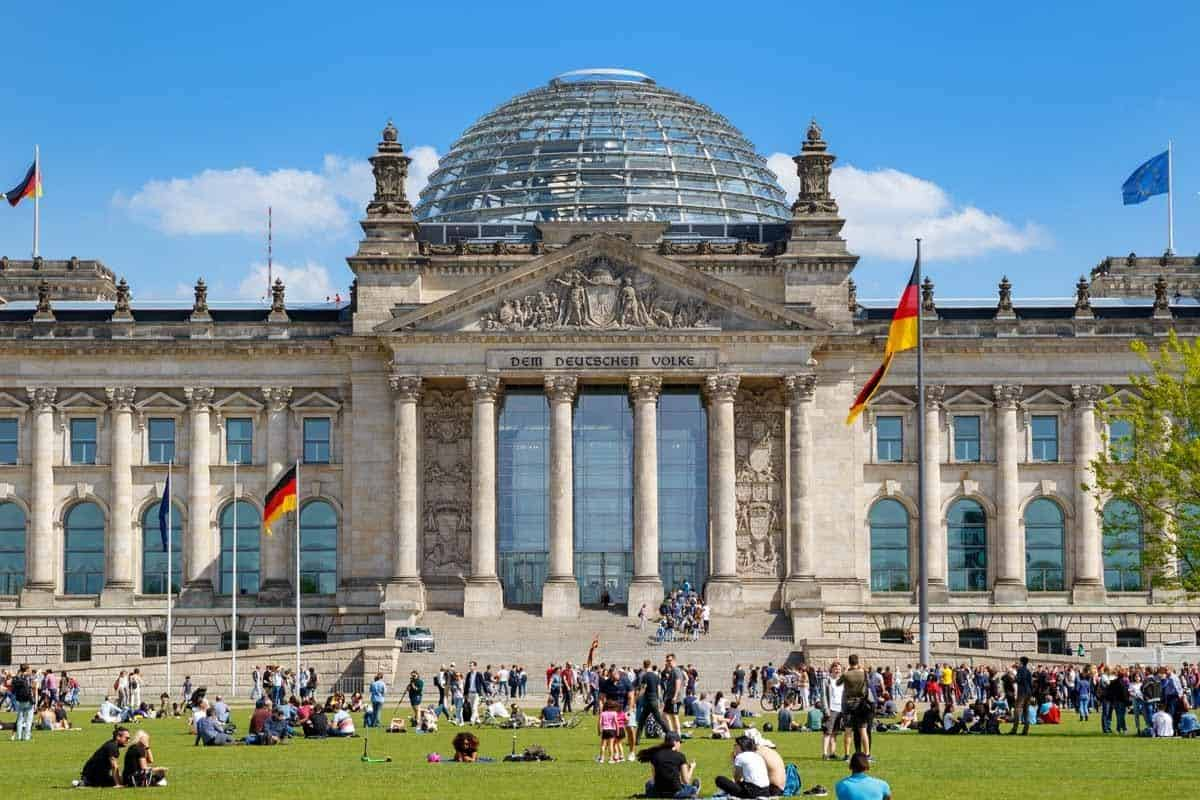 top tourist attractions in berlin germany reichstag