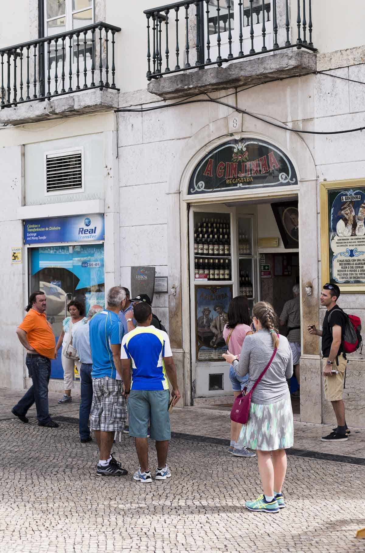 top tourist attractions in lisbon portugal a ginjinha largo sao domingos