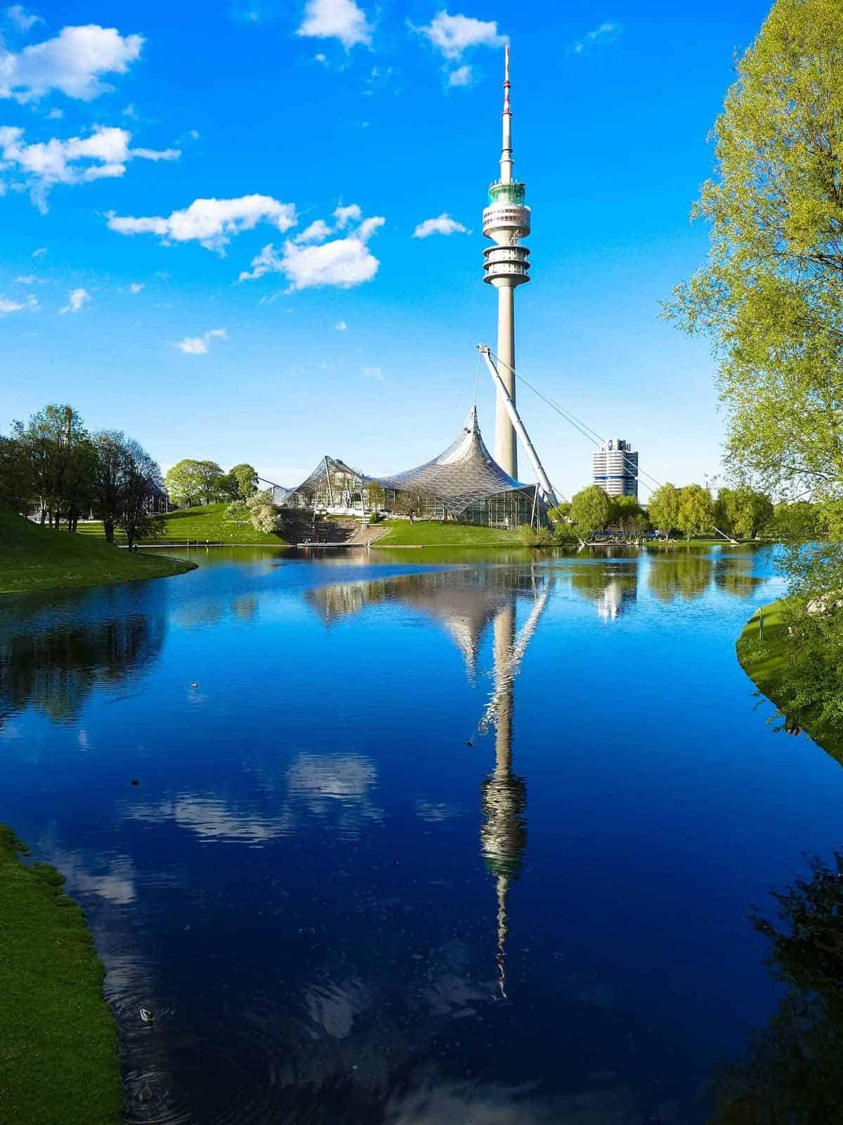 top tourist attractions in munich germany olympiapark