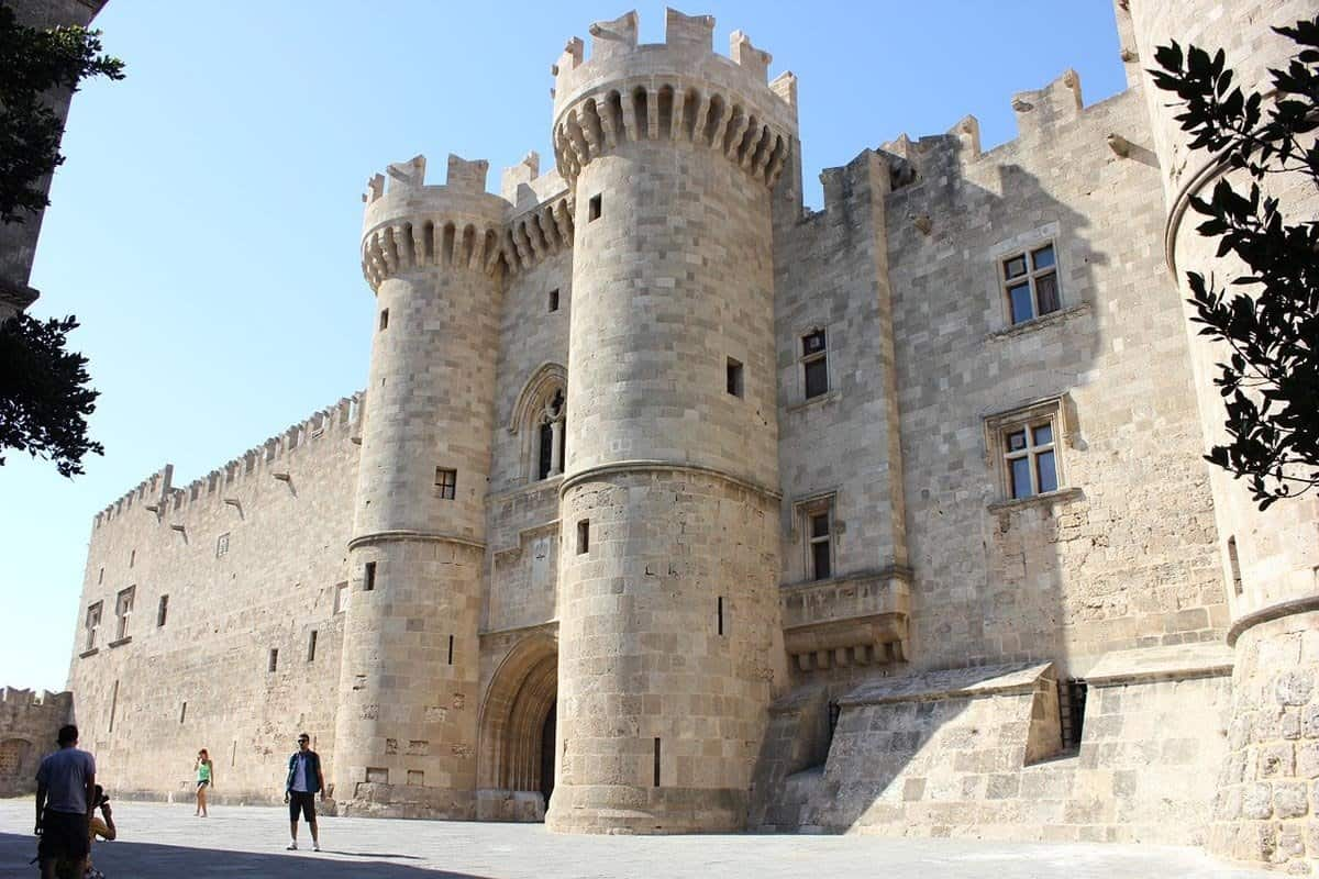 top tourist attractions in rhodes greece palace grand master