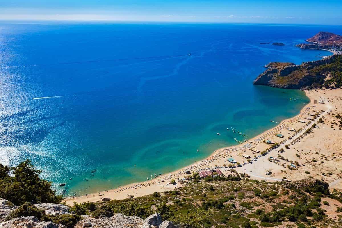 top tourist attractions in rhodes greece tsambika