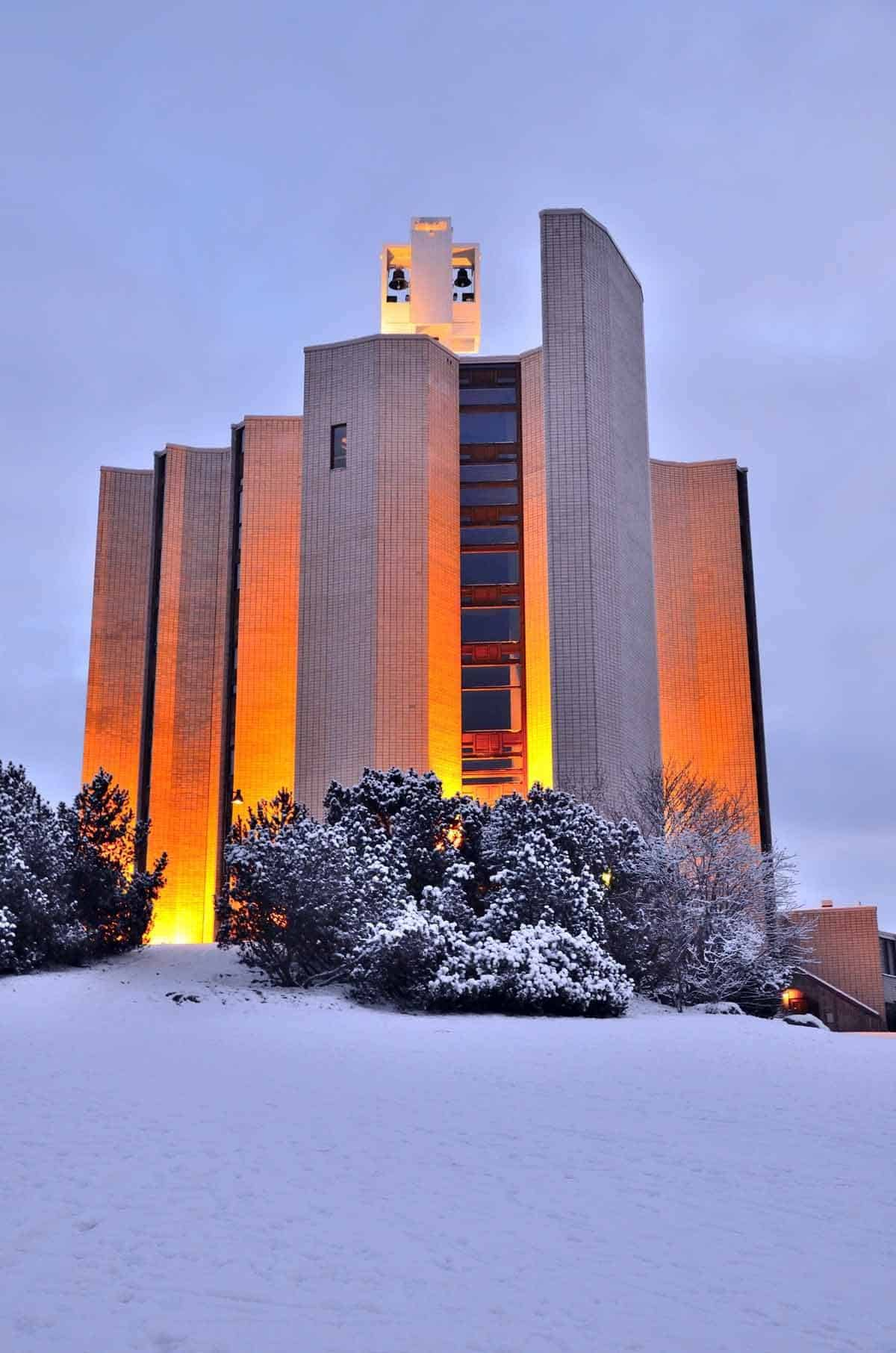 top tourist attractions in tampere finland kaleva church