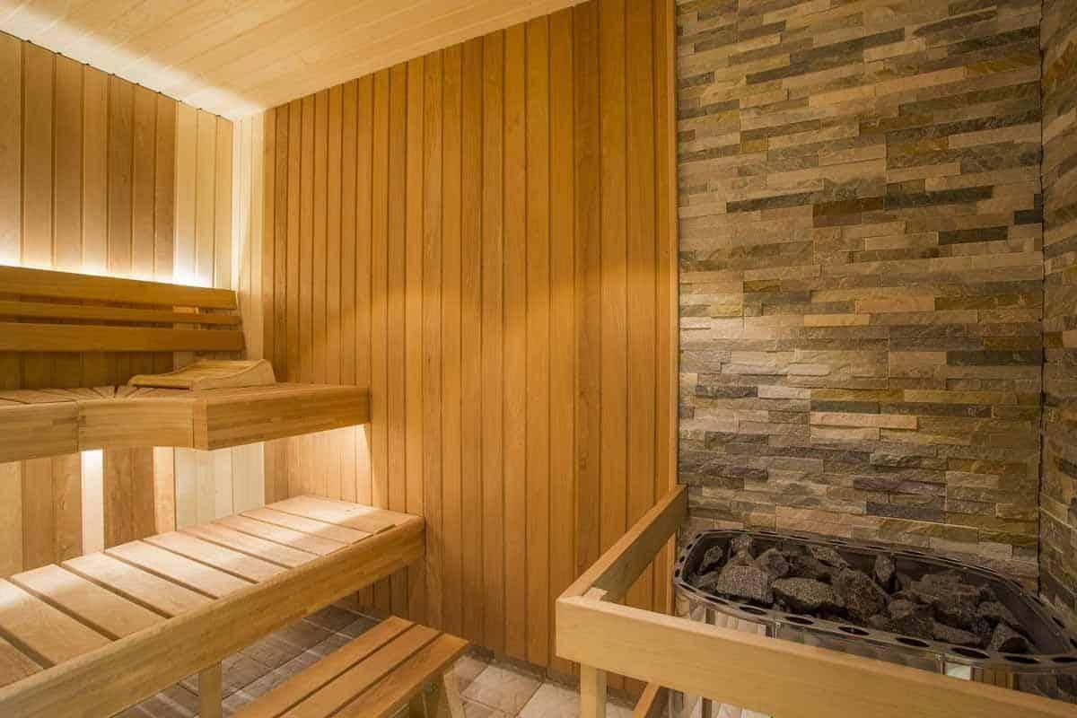 Sauna in Finland.