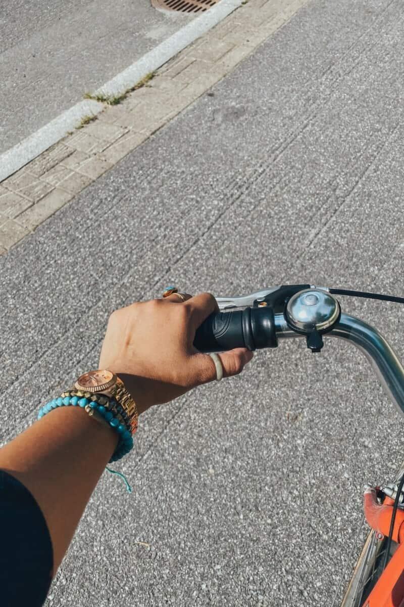 Cycling around Vaasa.