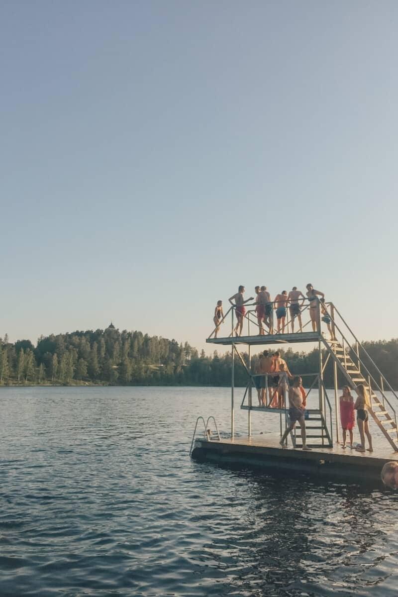 Lake near Tampere.